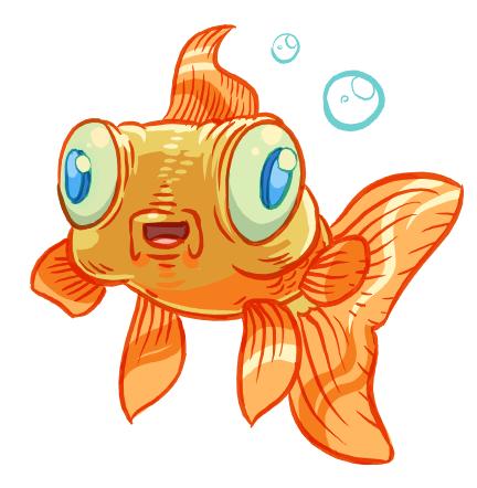 happy_goldfish_by_poj5-d45v8a3